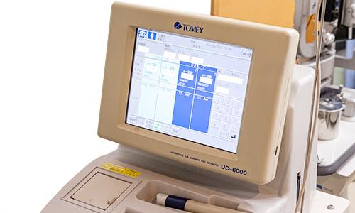 超音波装置(眼底エコー)